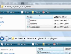 Install Save for Web GIMP plugin in Windows – TechZilo